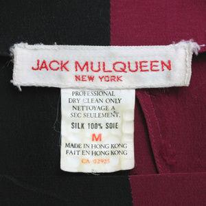 Jack Mulqueen Tops - intage Jack Mulqueen Silk Long Sleeve Blouse
